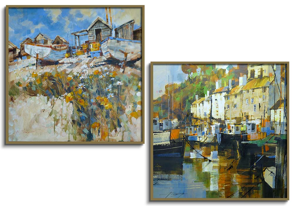 Seascape set by Chris Forsey