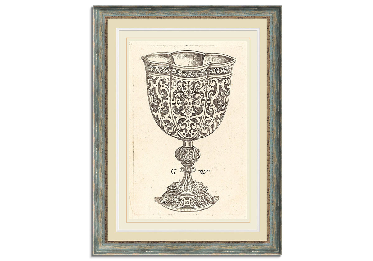 Chalice with six embossings by George Wechter