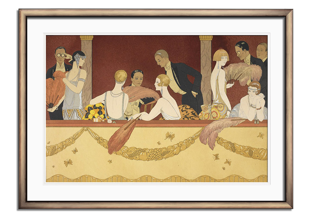 The Eventails by George Barbier