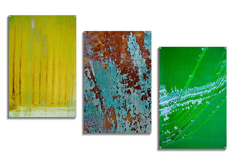 Textured acrylic collection by Carol Emmas