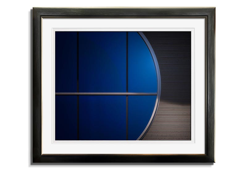Window in Blue  by Harry Verschelden