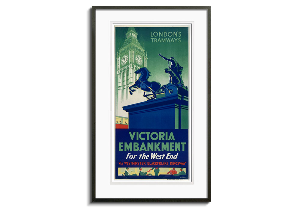 Victoria Embankment by Monica Rawlins