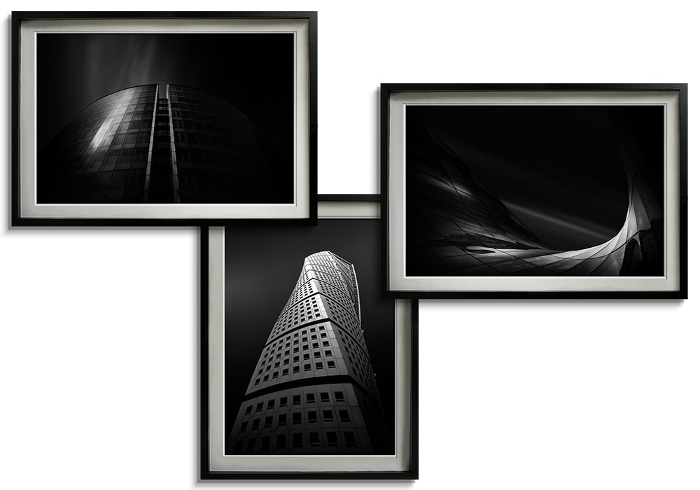 Black & White architectural set  by Dragos Ioneanu