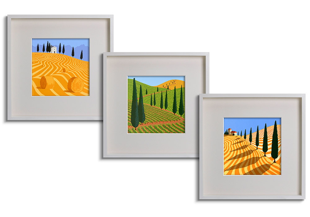 Limited edition Tuscan prints  by Jane Davies