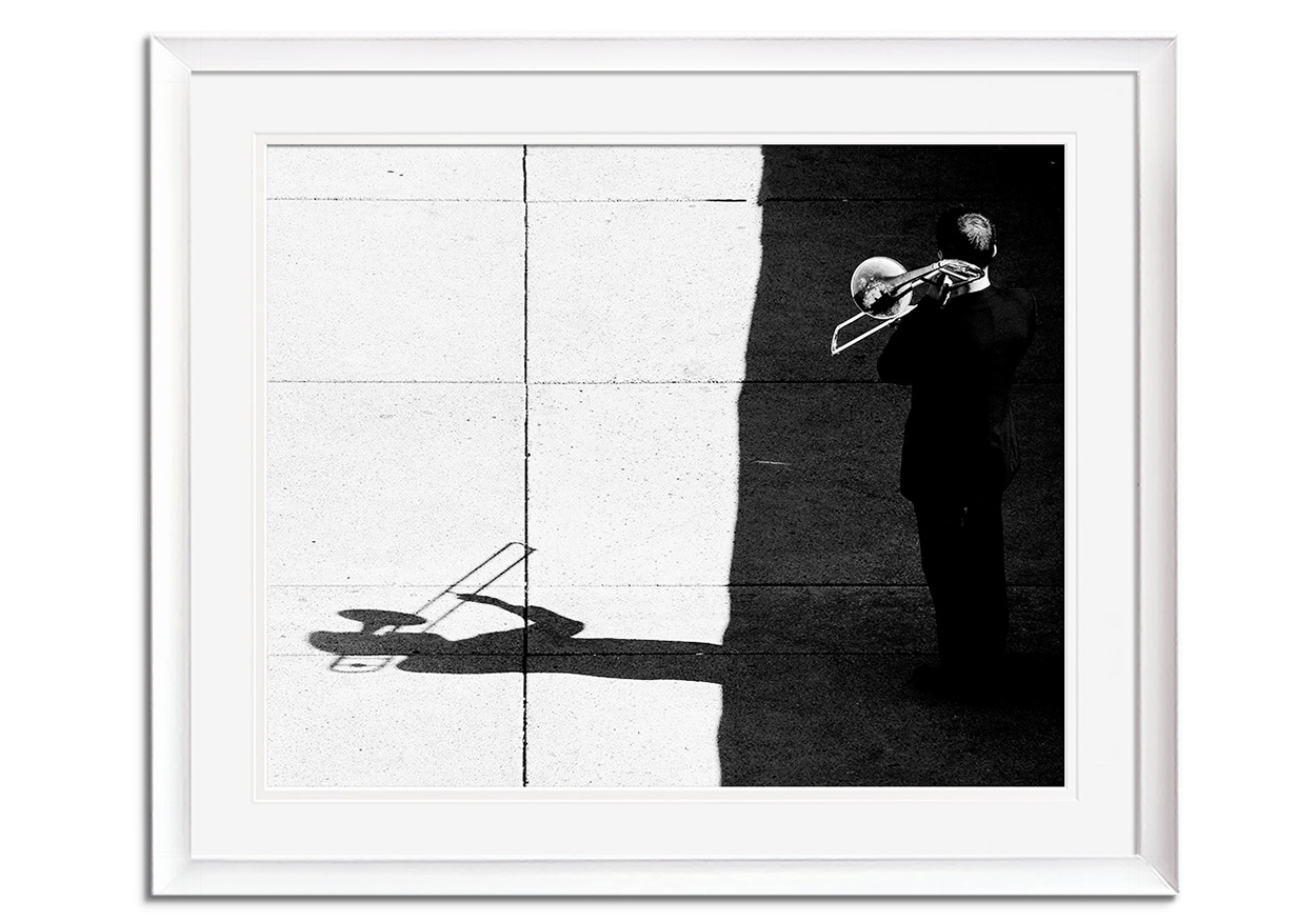 Trombone Player by Jian Wang