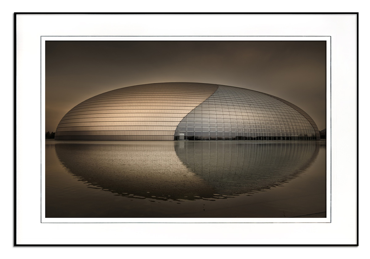 Beijing - Centre of Performing Arts by Michael Jurek