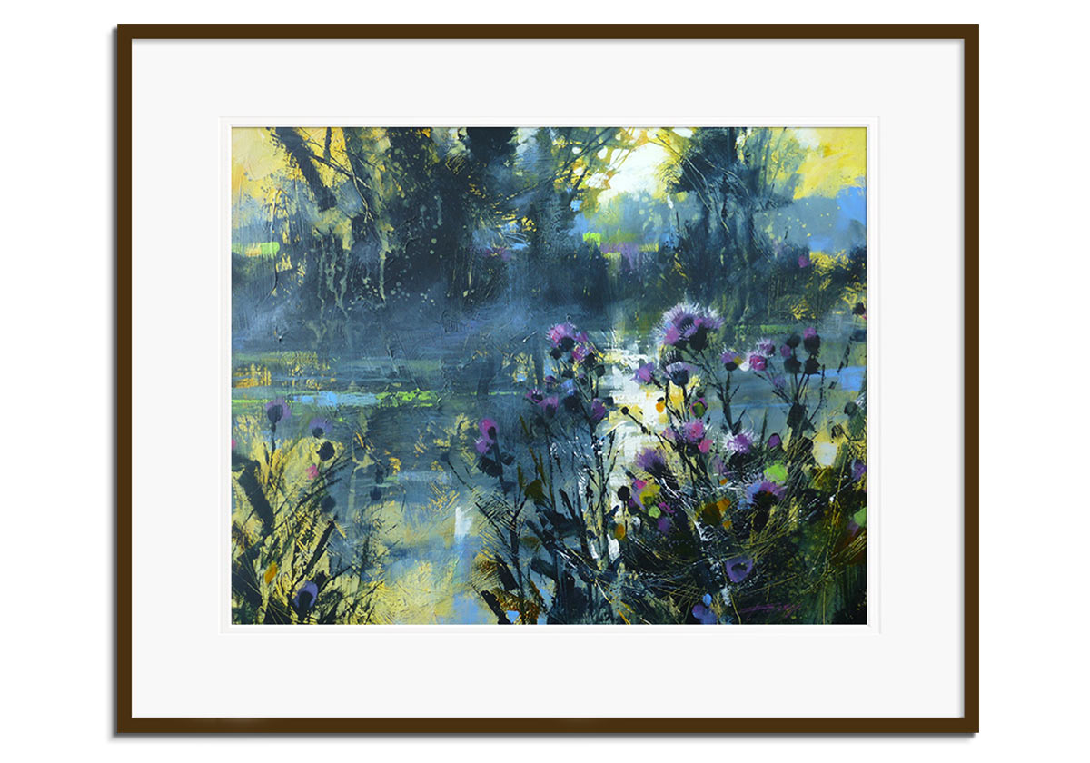 River Mist and Cobwebs by Chris Forsey