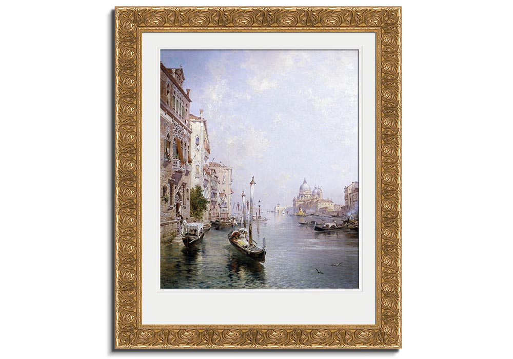 Grand Canal - Venice  by Franz Richard Unterberger