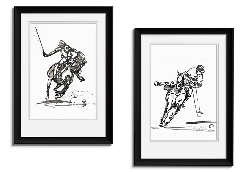 Polo Series - Set I  by Liz Armstrong