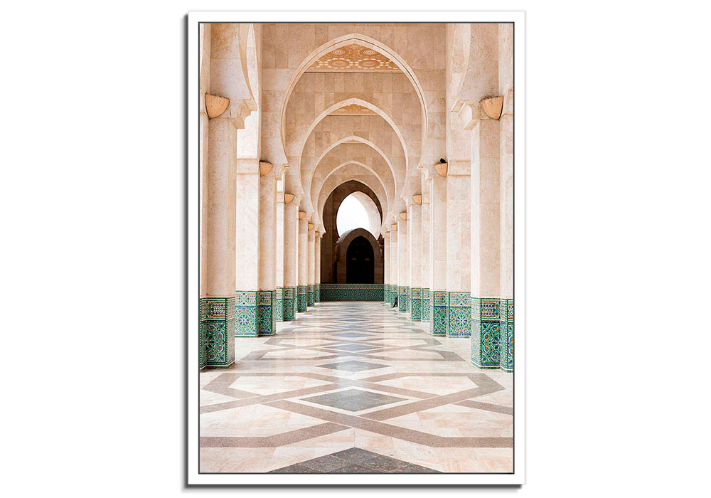 Moroccan Arches II by Lee Frost