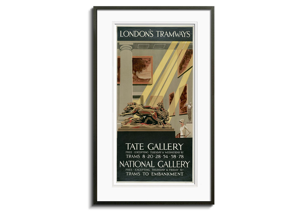 Tate Gallery by Tony Castle