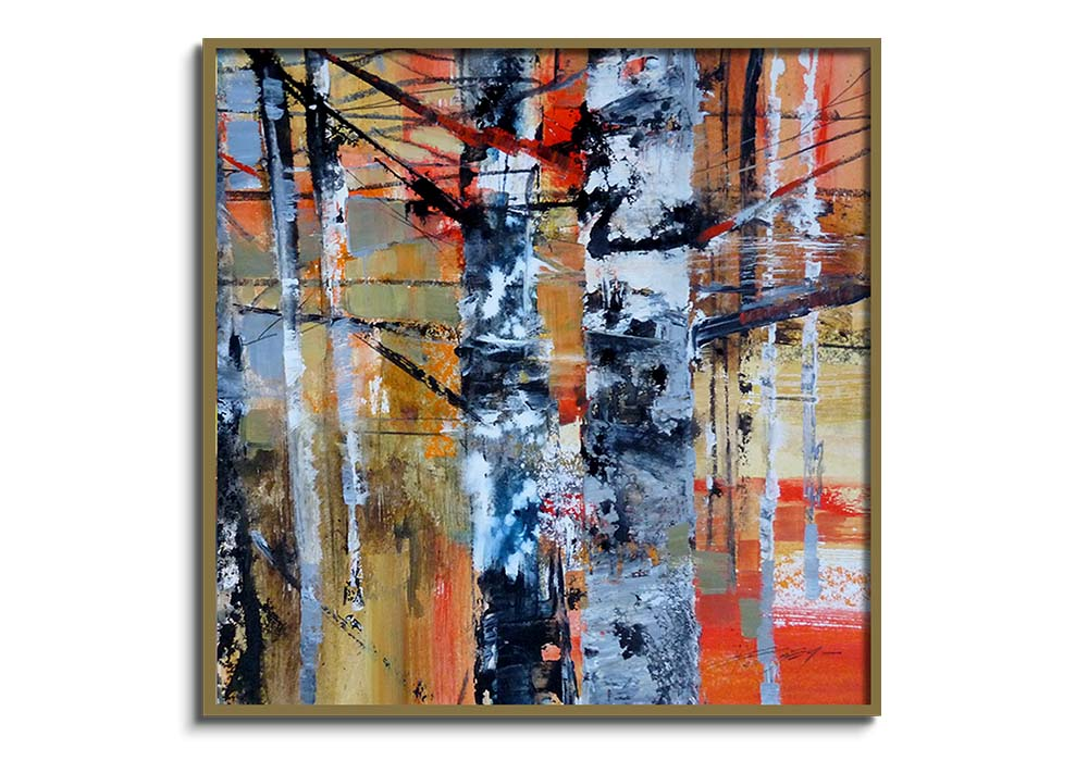 White Birch Bark  by Chris Forsey
