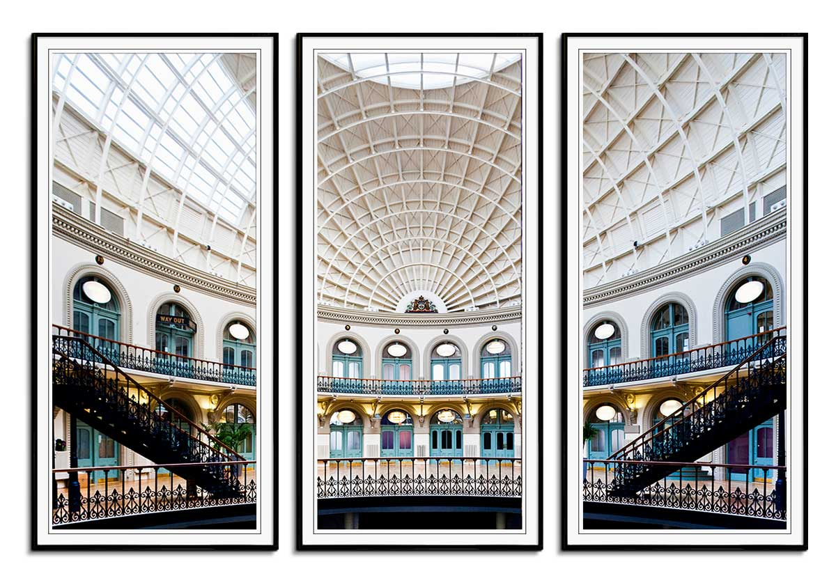 Leeds Corn Exchange by Joas Souza
