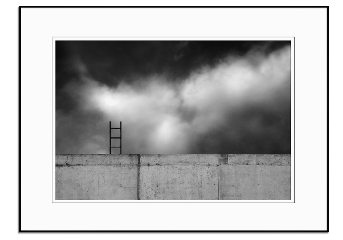 Ladder and Wall by Gilbert Claes