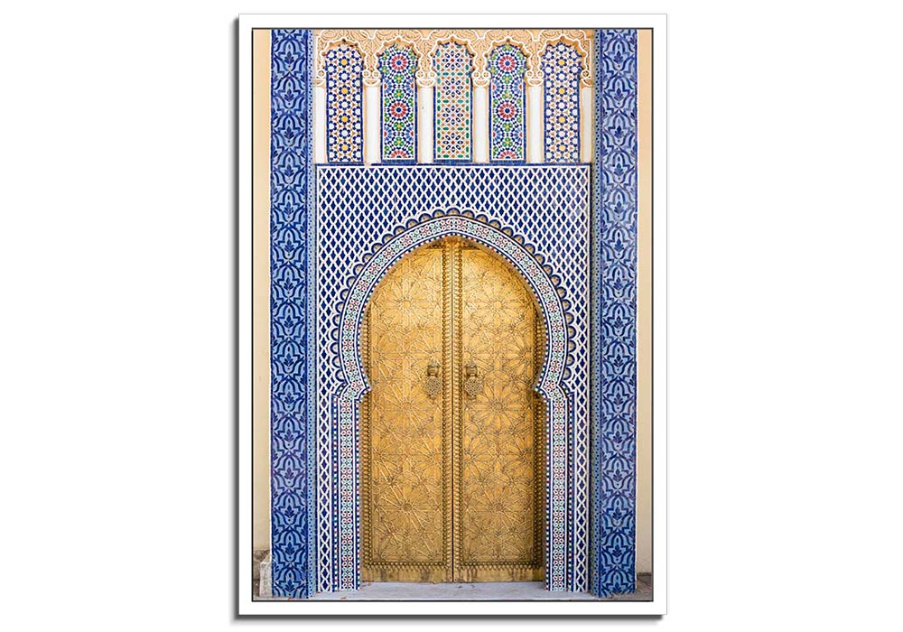Moroccan Doorway IV by Lee Frost