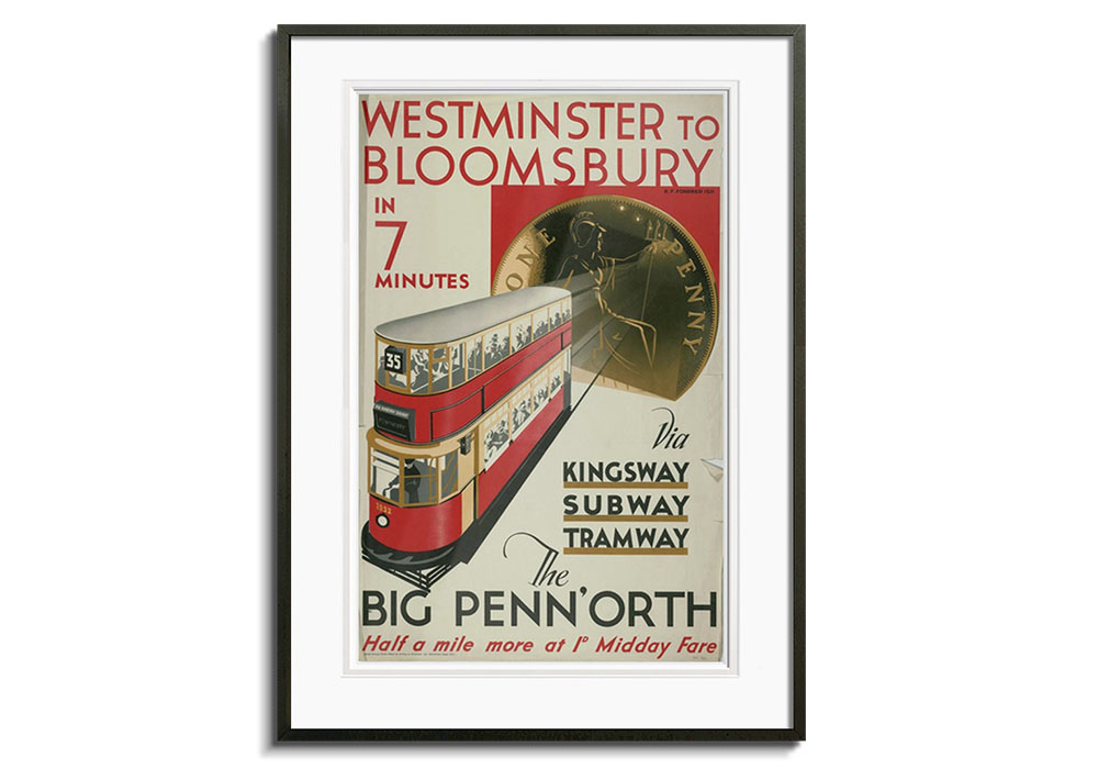 Westminster to Blomsbury by G M Morris