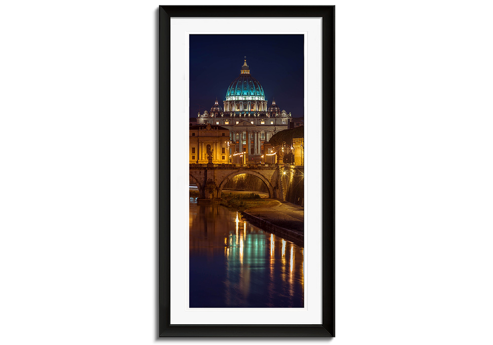 Rome by Night by Assaf Frank