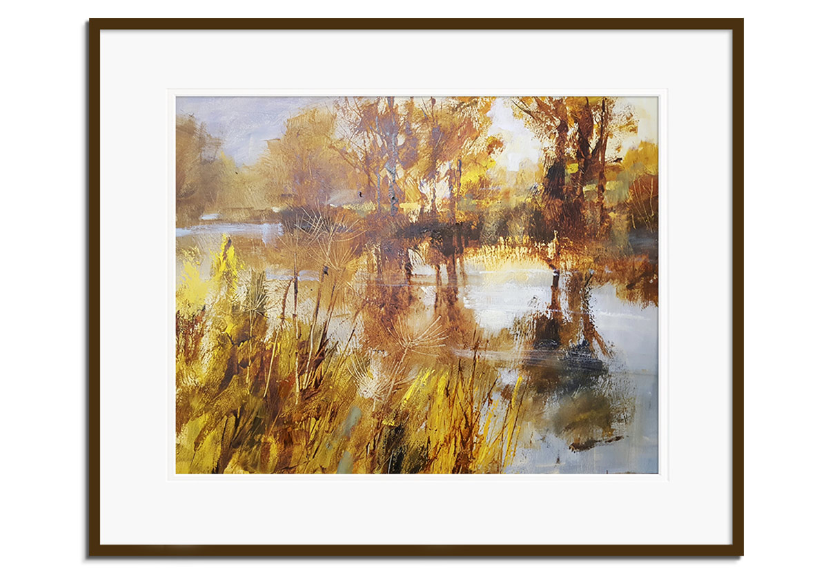 Autumn River by Chris Forsey