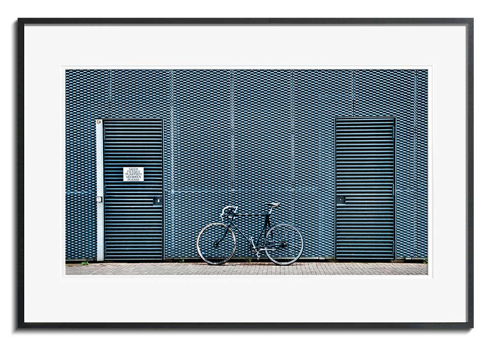 No Bikes Please by Linda Wride