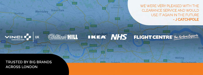 Trusted by big brands across London
