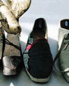 Men s women s eco footwear trend ss 2009