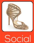 Social product trends women s footwear jan 2015