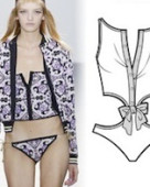 Swimwear design forecast s s 2017 women s menswear markets