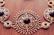 Black velvet jewels