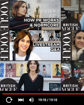Video series how to run a fashion business with alexa chung