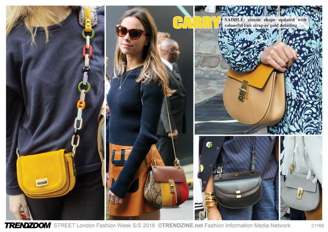 #Trendzoom on #WeConnectFashion, accessories street style, SS 2016 bags & clip-ons