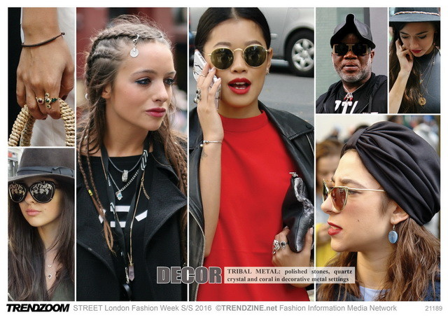 #Trendzoom on #WeConnectFashion, accessories street style, SS 2016 jewelry update