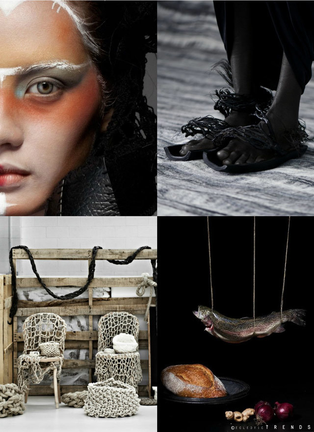 #EclecticTrends on #WeConnectFashion. Archaic Simplicity Fall/Winter 2017-18 preview, collage 1