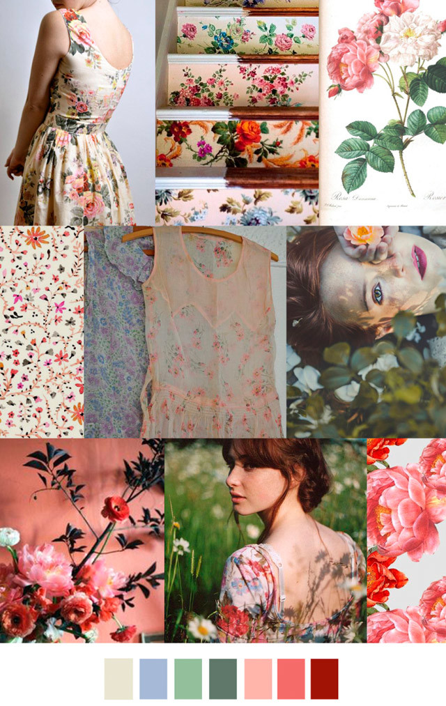 trend forecast mood boards women s spring 2017 preview garden variety