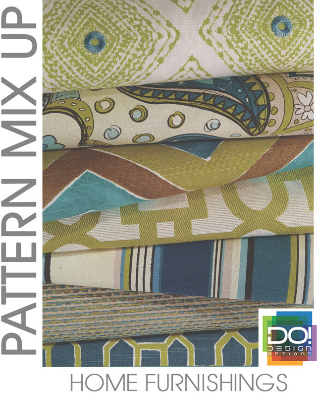 #DesignOptions SS17 color report on #WeConnectFashion, Home Interiors mood: Pattern Mix Up.