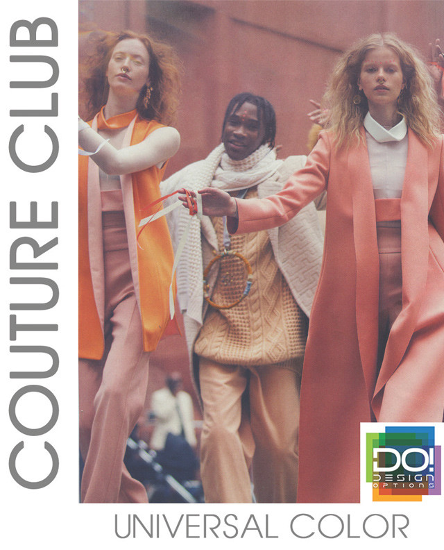 #DesignOptions SS17 color report on #WeConnectFashion, Women's mood: Couture Club.