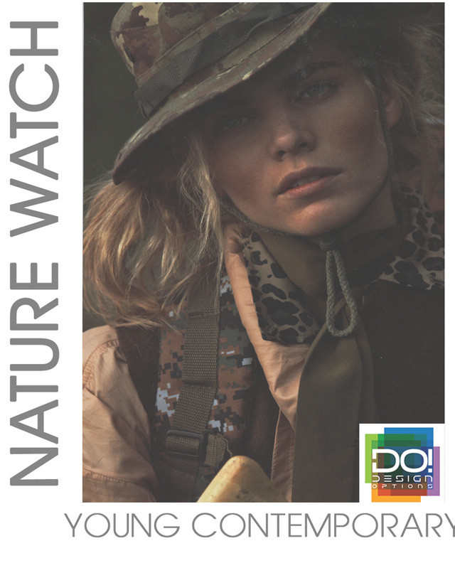 #DesignOptions SS17 color report on #WeConnectFashion, Contemporary Women's mood: Nature Watch.