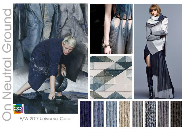#DesignOptions FW 17/18 color on #WeConnectFashion, Women's trend: On Neutral Ground.