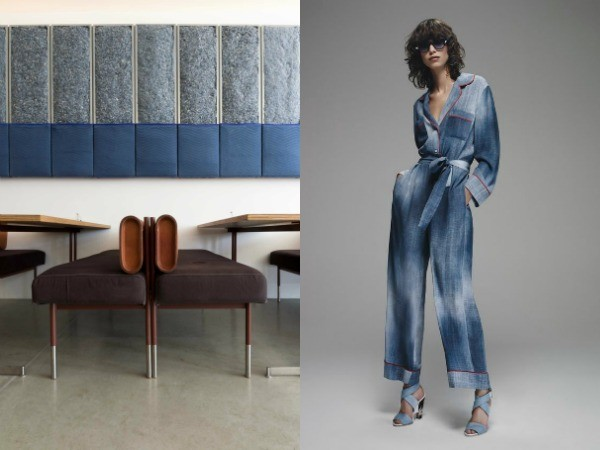 #EclecticTrends on #WeConnectFashion. Interior Meets Fashion - Denim Vibes, collage 3