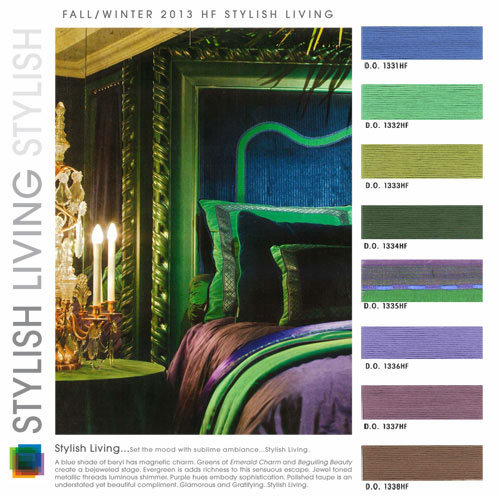 Trends Fall Winter Home Interiors Color FW 2013 14 WeConnectFashion