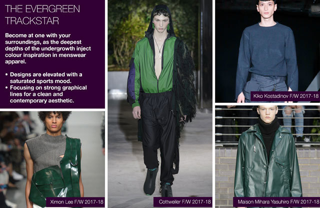 #Trendstop Runway F/W 2018 trends on #WeConnectFashion. Menswear Directions: The Evergreen Trackstar