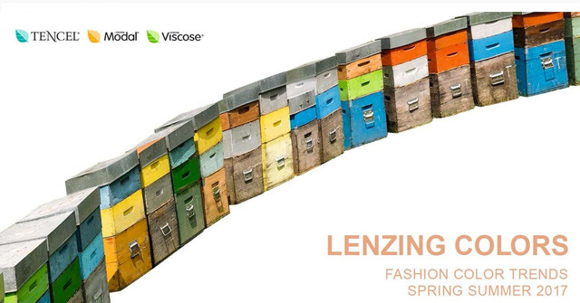 #Lenzing on #WeConnectFashion, Spring Summer 2017 Color