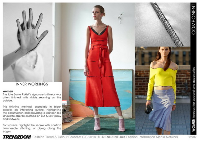 #Trendzine SS 2018 trends on #WeConnectFashion.  Mood: Component, details