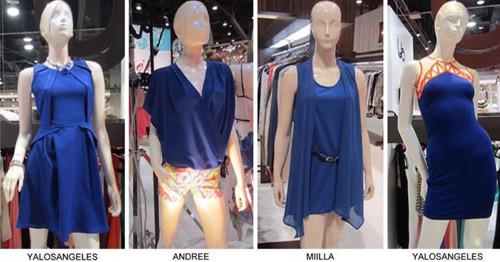 Fashionsnoops electric blue