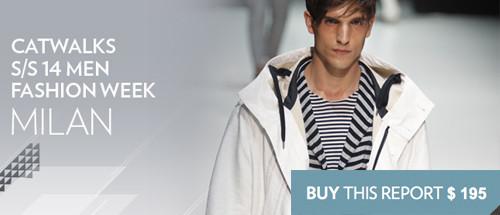 Fashionsnoops trendshop mens runway milan ss14