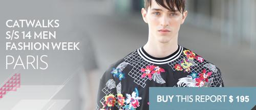 Fashionsnoops trendshop mens runway paris ss14