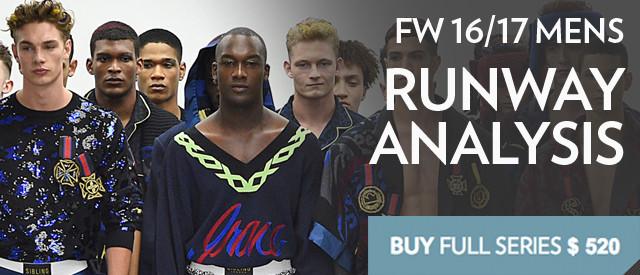 Men's FW 16/17 Runway Report