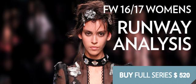 Women's FW 16/17 Runway Report