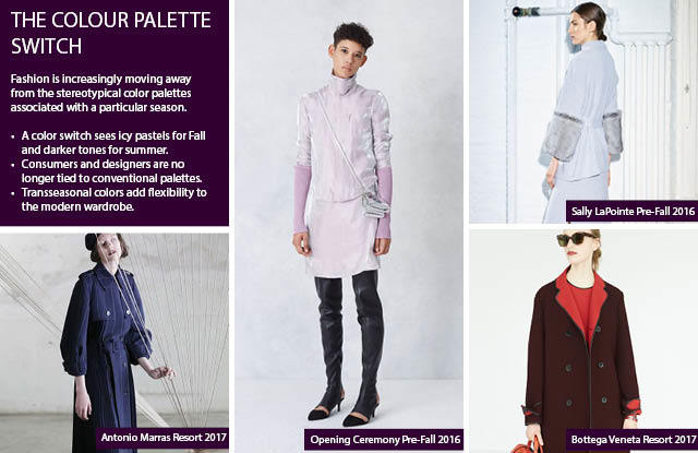 """#Trendstop Consumer trends on #WeConnectFashion. Insight: The Color Palette Switch"