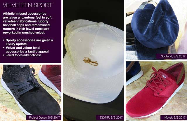 #Trendstop SS17 Mens tradeshow insight on #WeConnectFashion. Key Essential Theme: Velveteen Sport