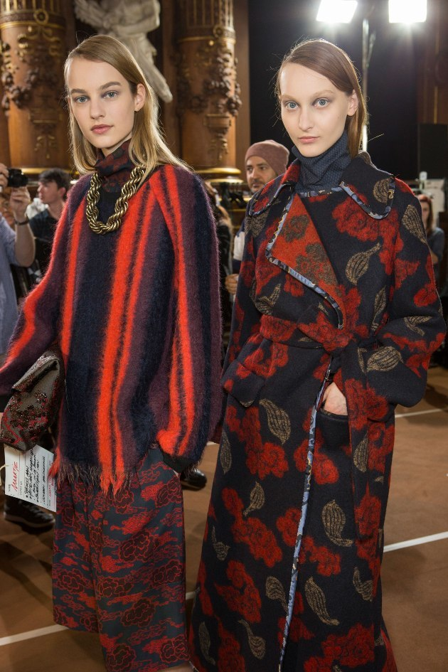 #Trendstop on #WeConnectFashion, Key Womenswear Print Trends FW 16/17. Designer: Dries Van Noten